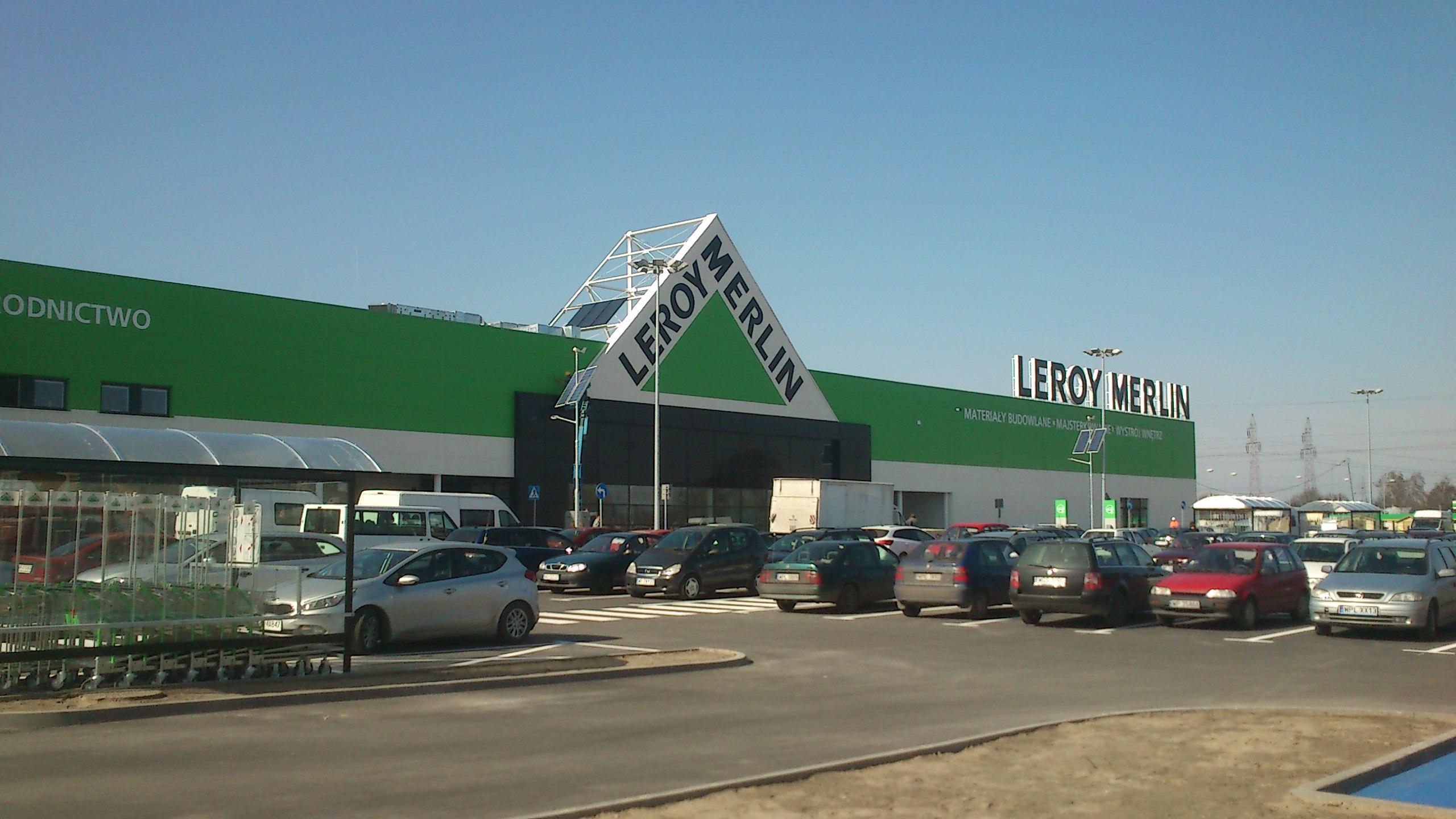 Leroy Merlin W Plocku Zaprasza Pierwszych Klientow Www Skanska Pl