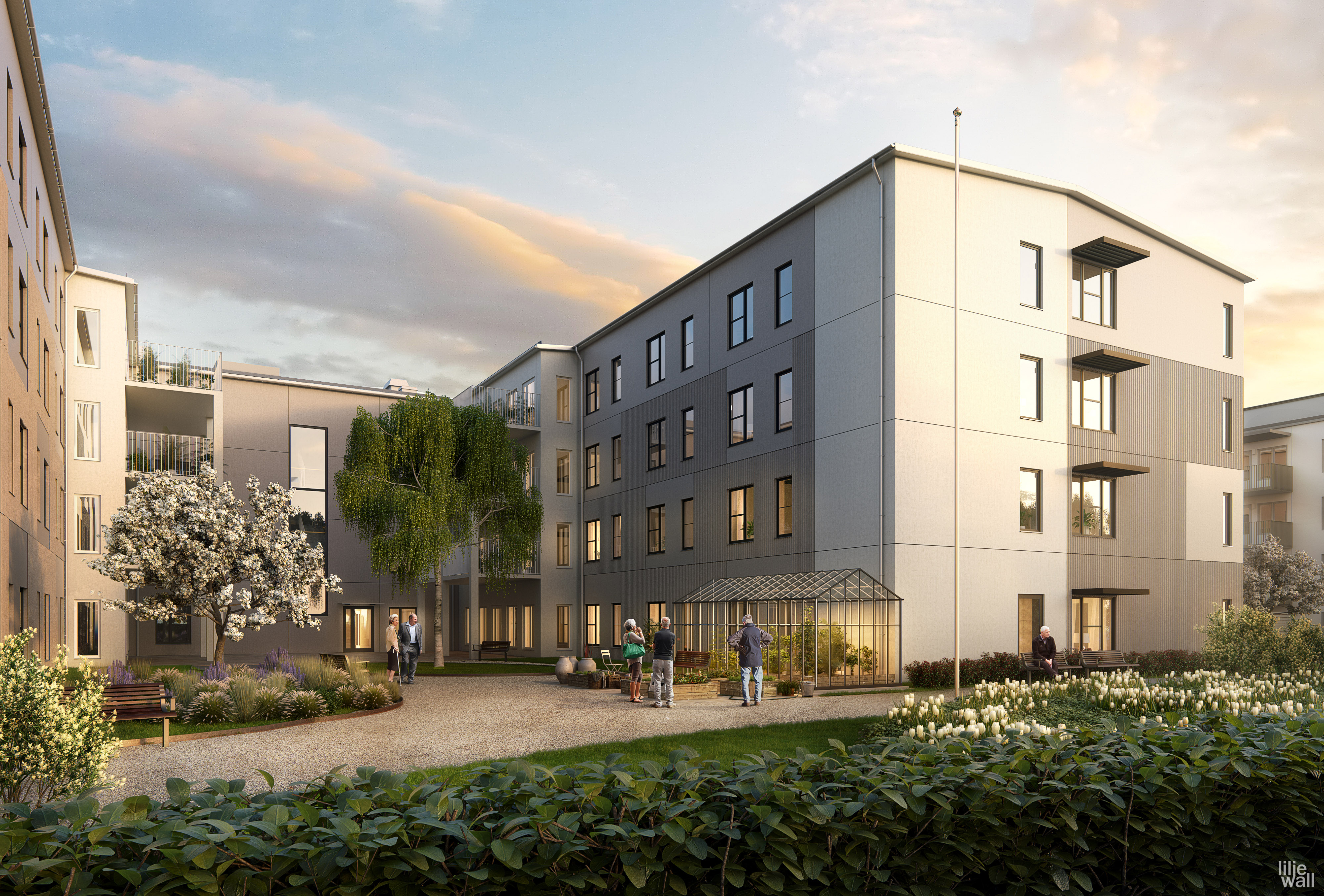 Skanska S Retirement Home And Rental Apartments In Älvängen Sweden For About Sek 310 M